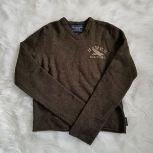 Men's Abercrombie v neck sweater
